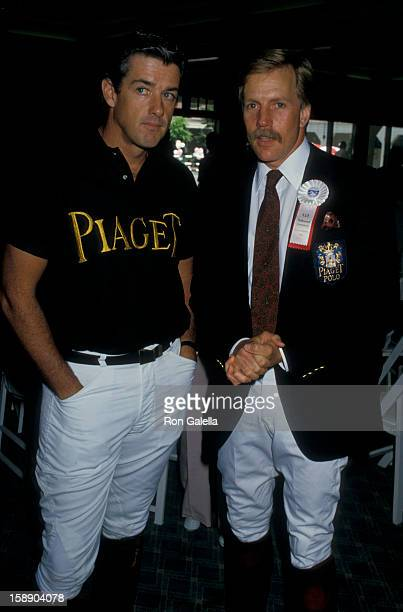 Actor Jameson Parker attends Ben JohnsonProCelebrity Rodeo on June 7 1987 at the Los Angeles Equestrian Center in Los Angeles California