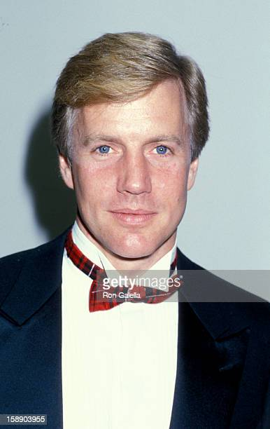 Actor Jameson Parker attends Second Annual Stuntman Awards on March 22 1986 at KTLA Studios in Los Angeles California