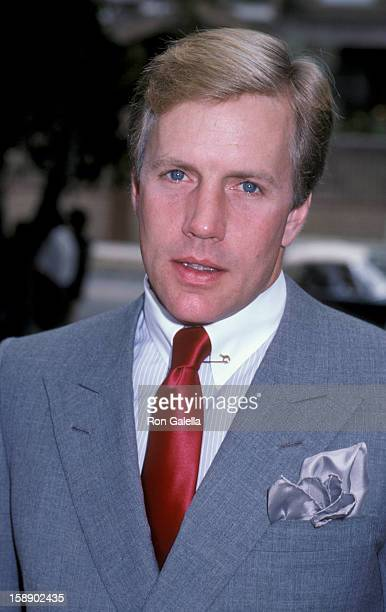 Actor Jameson Parker attends the fundraising benefit for the Santa Monica Rape Treatment Center on September 14 1986 at Barney Rosenzweig and Barbara...