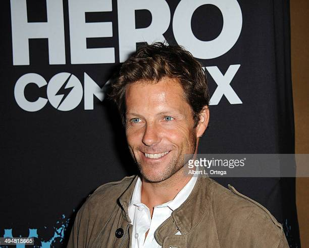 Actor Jamie Bamber arrives for the 5th Annual Hero Complex Film Festival 'Battlestar Galactica' Screening and QA held at the TCL Chinese Theater on...