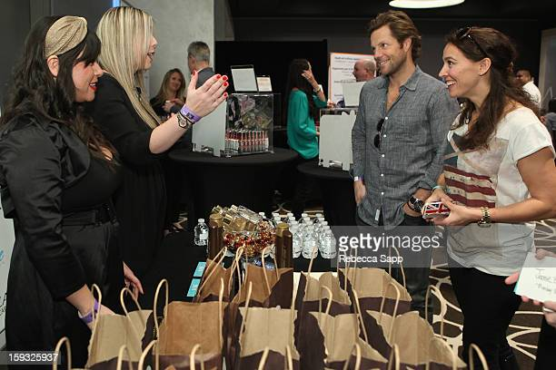Actor Jamie Bamber attends Kari Feinstein's PreGolden Globes Style Lounge at the W Hollywood on January 11 2013 in Hollywood California