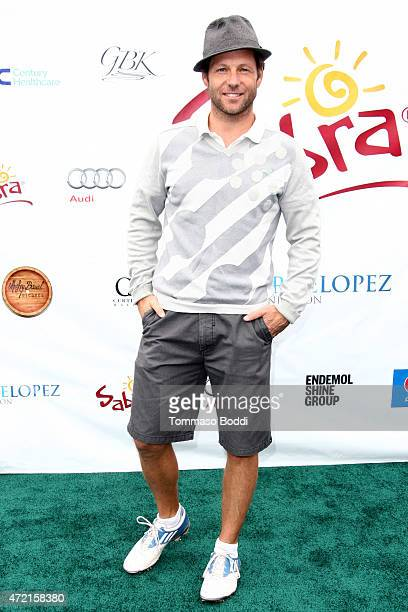 Actor Jamie Bamber attends the 8th Annual George Lopez Celebrity Golf Classic at Lakeside Golf Club on May 4, 2015 in Toluca Lake, California.