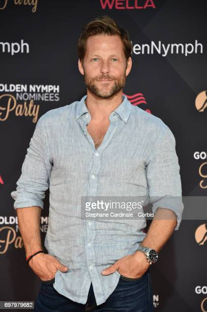 Actor Jamie Bamber attends the Golden Nymph Nominees Party at the MonteCarlo Bay Hotel on June 19 2017 in MonteCarlo Monaco