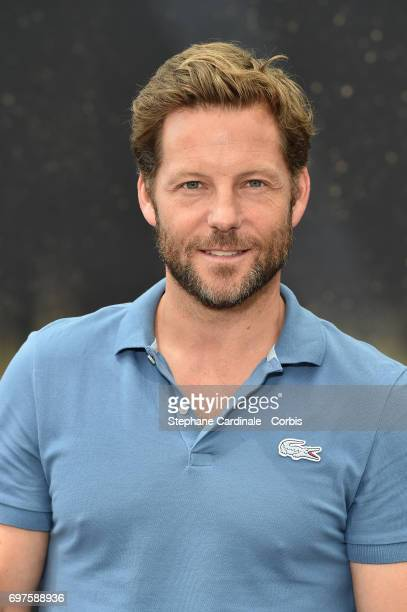 Actor Jamie Bamber from 'Fearless' TV Show poses for a Photocall during the 57th Monte Carlo TV Festival: Day 4, on June 19, 2017 in Monte-Carlo,...