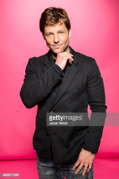Actor Jamie Bamber is photographed for Event magazine in London, England.