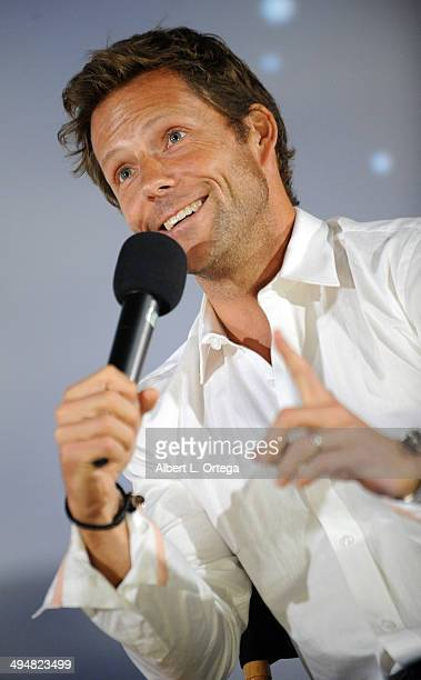 Actor Jamie Bamber participates in the 5th Annual Hero Complex Film Festival 'Battlestar Galactica' Screening and QA held at the TCL Chinese Theater...