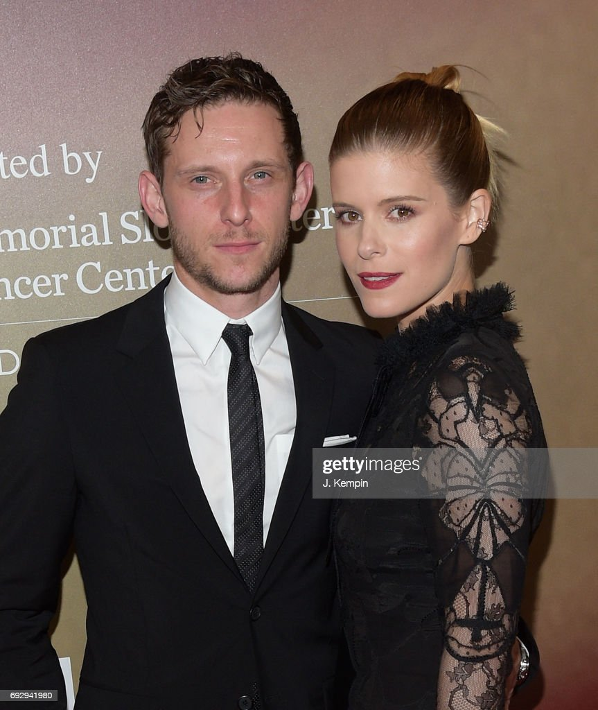 Actor Jamie Bell and actress Kate Mara attend the 'Megan Leavey' World Premiere at Yankee Stadium on June 5, 2017 in the Bronx borough of New York City.