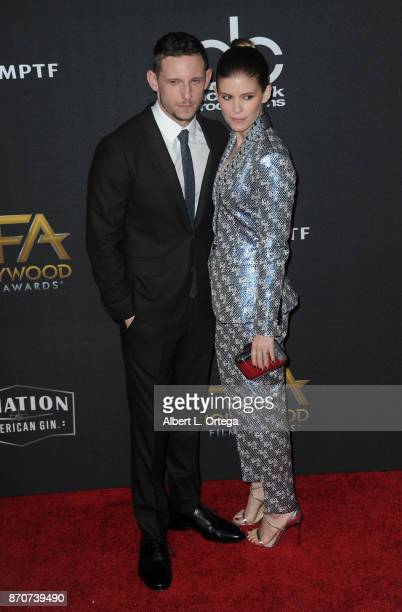 Actor Jamie Bell and actress/wife Kate Mara arrive for the 21st Annual Hollywood Film Awards held at The Beverly Hilton Hotel on November 5 2017 in...