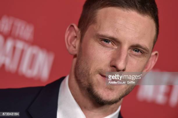 Actor Jamie Bell arrives at SAGAFTRA Foundation Patron of the Artists Awards 2017 on November 9 2017 in Beverly Hills California