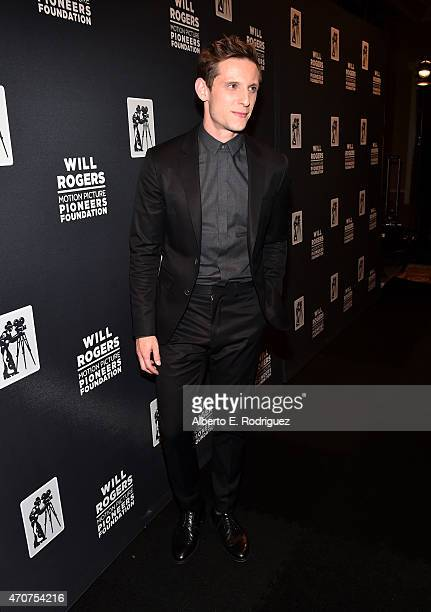 "Actor Jamie Bell attends 2015 Will Rogers ""Pioneer of the Year"" Dinner Honoring Jim Gianopulos at Caesars Palace during CinemaCon the official..."