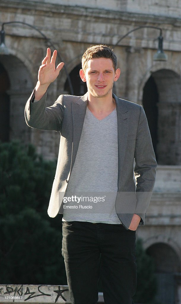 Actor Jamie Bell attends a photocall for 'Jumper' at the Colosseum on February 6, 2008 in Rome, Italy.