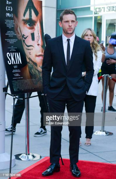 Actor Jamie Bell attends LA special screening of A24's Skin at ArcLight Hollywood on July 11 2019 in Hollywood California