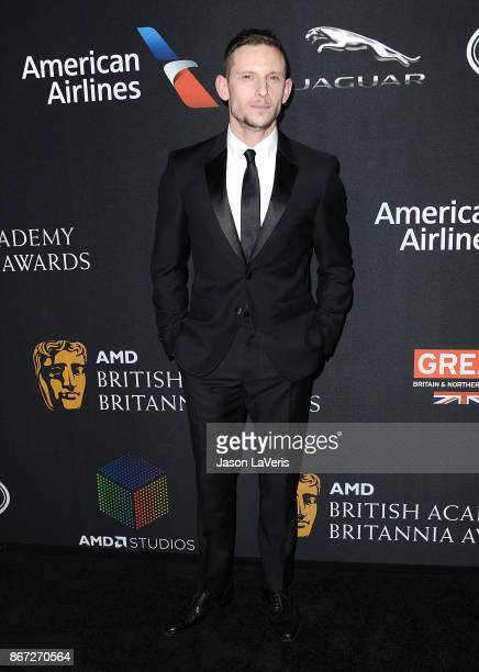 Actor Jamie Bell attends the 2017 AMD British Academy Britannia Awards at The Beverly Hilton Hotel on October 27 2017 in Beverly Hills California