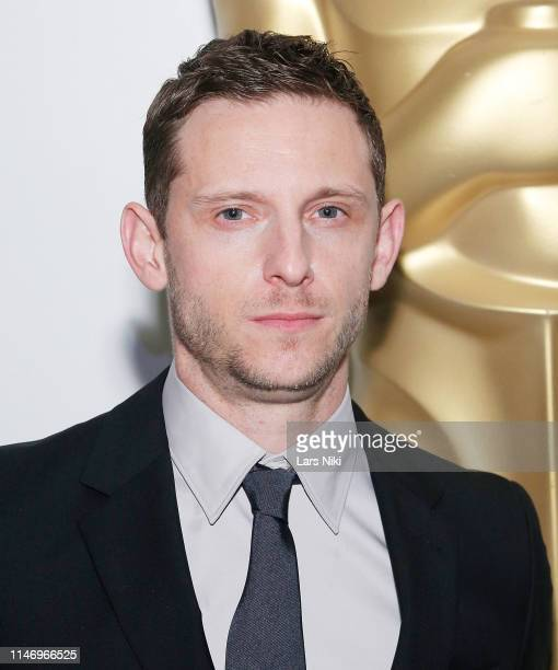 Actor Jamie Bell attends The Academy of Motion Picture Arts and Sciences official screening of Rocketman at the MoMA Celeste Bartos Theater on May 29...