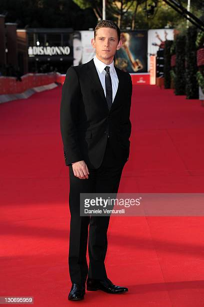 Actor Jamie Bell attends ''The Adventures Of Tin Tin' Premiere during the 6th International Rome Film Festival at Auditorium Parco Della Musica on...