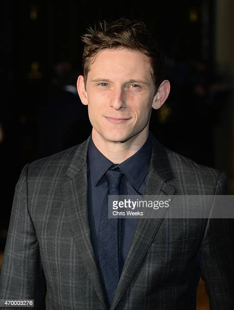 Actor Jamie Bell attends the Burberry London in Los Angeles event at Griffith Observatory on April 16 2015 in Los Angeles California