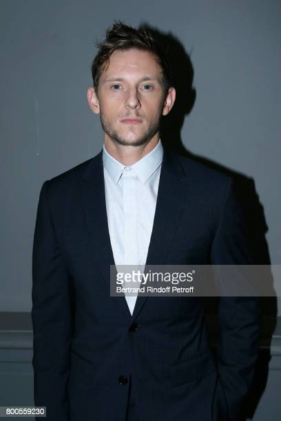 Actor Jamie Bell attends the Dior Homme Menswear Spring/Summer 2018 show as part of Paris Fashion Week on June 24 2017 in Paris France