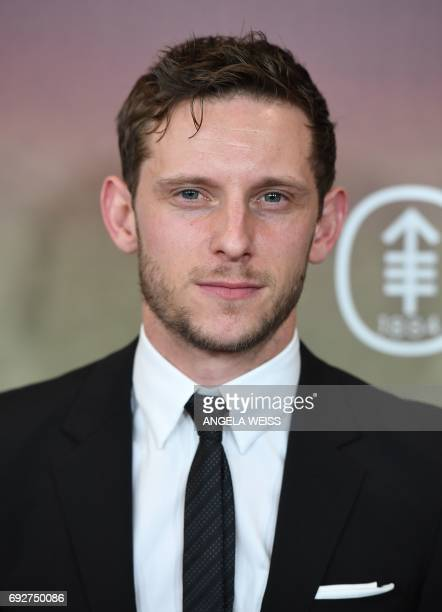 Actor Jamie Bell attends the 'Megan Leavey' world premiere at Yankee Stadium on June 5 2017 in the Bronx borough of New York City / AFP PHOTO /...