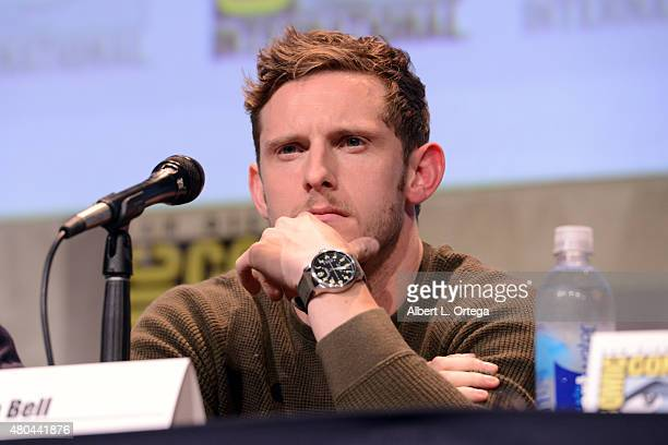 Actor Jamie Bell of 'Fantastic Four' speaks onstage at the 20th Century FOX panel during ComicCon International 2015 at the San Diego Convention...