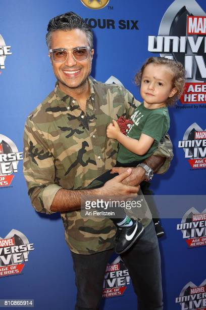 Actor Jamie Camil arrives at Marvel Universe LIVE Age Of Heroes World Premiere Celebrity Red Carpet Event at Staples Center on July 8 2017 in Los...