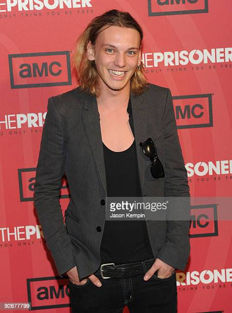 Actor Jamie CampbellBower attends The Prisoner New York screening at the IFC Center on November 3 2009 in New York City