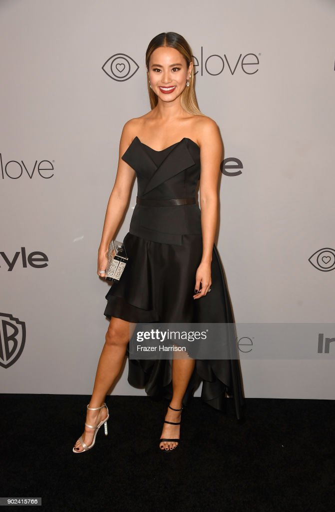 Actor Jamie Chung attends 19th Annual Post-Golden Globes Party hosted by Warner Bros. Pictures and InStyle at The Beverly Hilton Hotel on January 7, 2018 in Beverly Hills, California.