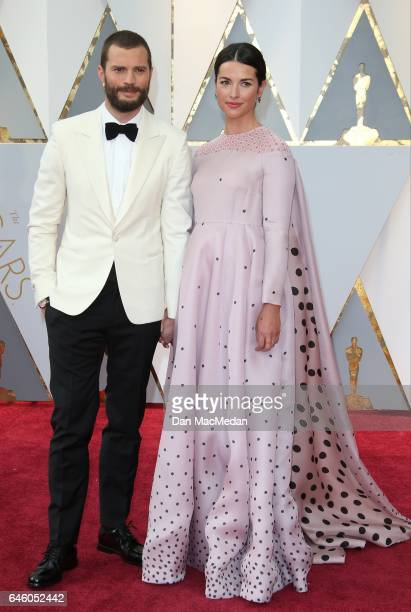 Actor Jamie Dornan and Amelia Warner arrive at the 89th Annual Academy Awards at Hollywood Highland Center on February 26 2017 in Hollywood California