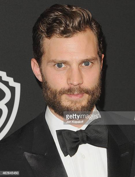 Actor Jamie Dornan arrives at the 16th Annual Warner Bros And InStyle PostGolden Globe Party at The Beverly Hilton Hotel on January 11 2015 in...