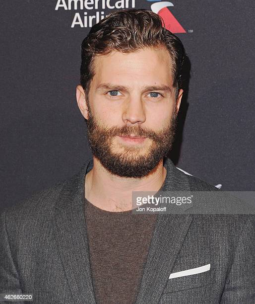 Actor Jamie Dornan arrives at the 2015 BAFTA Tea Party at The Four Seasons Hotel on January 10 2015 in Beverly Hills California