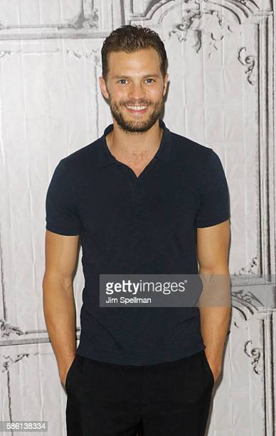 Actor Jamie Dornan attends AOL Build Presents Sean Ellis Jamie Dornan and Cillian Murphy Anthropoid at AOL HQ on August 5 2016 in New York City