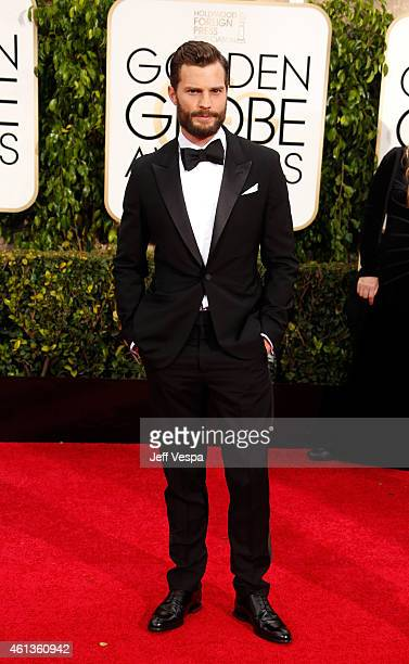 Actor Jamie Dornan attends the 72nd Annual Golden Globe Awards at The Beverly Hilton Hotel on January 11 2015 in Beverly Hills California