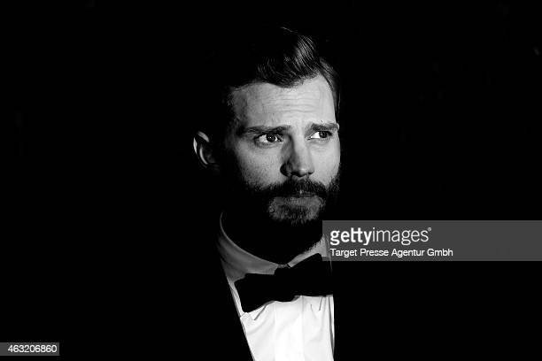 Actor Jamie Dornan attends the 'Fifty Shades of Grey' premiere during the 65th Berlinale International Film Festival at Zoo Palast on February 11...