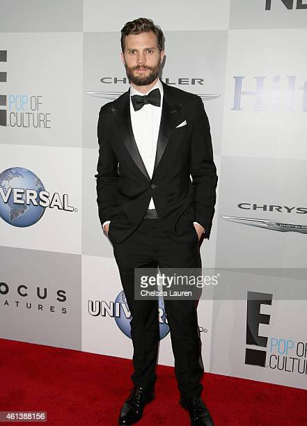 Actor Jamie Dornan attends the NBCUniversal 2015 Golden Globe Awards Party sponsored by Chrysler at The Beverly Hilton Hotel on January 11 2015 in...