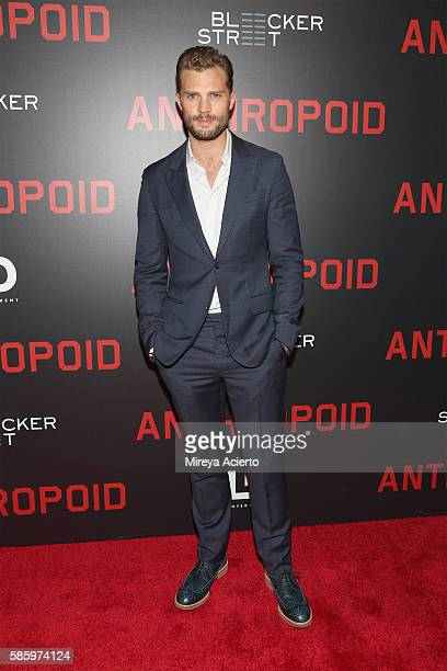 Actor Jamie Dornan attends the New York Premiere for 'Anthropoid' at AMC Lincoln Square Theater on August 4 2016 in New York City