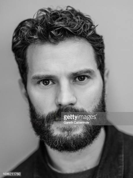 ActorJamie Dornan from the film 'A Private War' poses for a portrait during the 2018 Toronto International Film Festival at Intercontinental Hotel on...