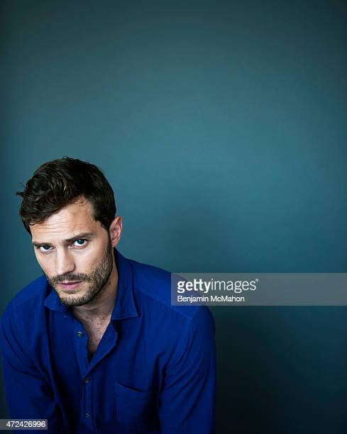 Actor Jamie Dornan is photographed for the Telegraph on September 18 2014 in London England