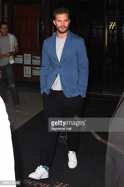 Actor Jamie Dornan is seen walking on August 5 2016 in New York City