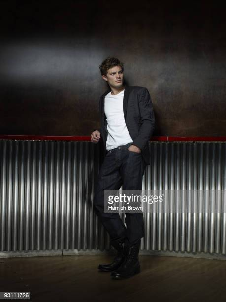 Actor Jamie Dornan poses for a portrait shoot in London on July 13 2009