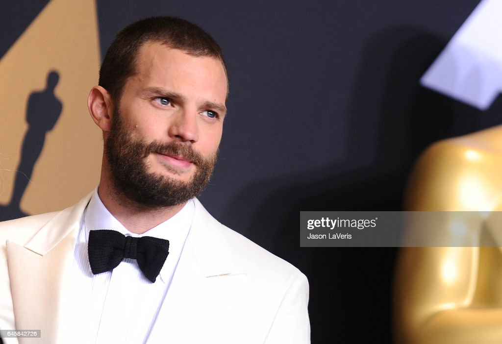 Actor Jamie Dornan poses in the press room at the 89th annual Academy Awards at Hollywood & Highland Center on February 26, 2017 in Hollywood, California.