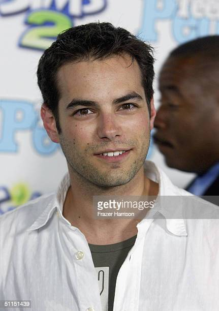 """Actor Jamie Elman arrives at the 1st Annual Teen People """"Young Hollywood"""" Issue party held on August 7, 2004 at the Teen People mansion in the..."""