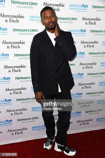 Actor Jamie Foxx arrives at An Evening Of SeriousFun Celebrating The Legacy Of Paul Newman at Dolby Theatre on May 14 2015 in Hollywood...