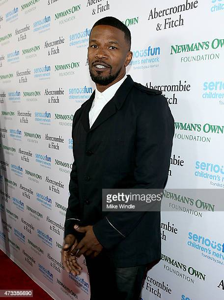 Actor Jamie Foxx attends SeriousFun Children's Network 2015 Los Angeles Gala An Evening Of SeriousFun celebrating the legacy of Paul Newman on May 14...