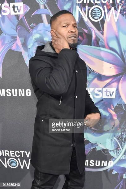 Actor Jamie Foxx attends the 2018 DIRECTV NOW Super Saturday Night Concert at NOMADIC LIVE at The Armory on February 3 2018 in Minneapolis Minnesota