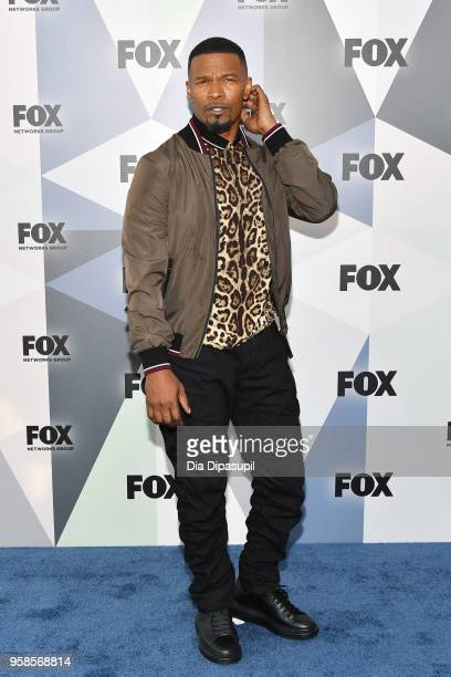 Actor Jamie Foxx attends the 2018 Fox Network Upfront at Wollman Rink Central Park on May 14 2018 in New York City