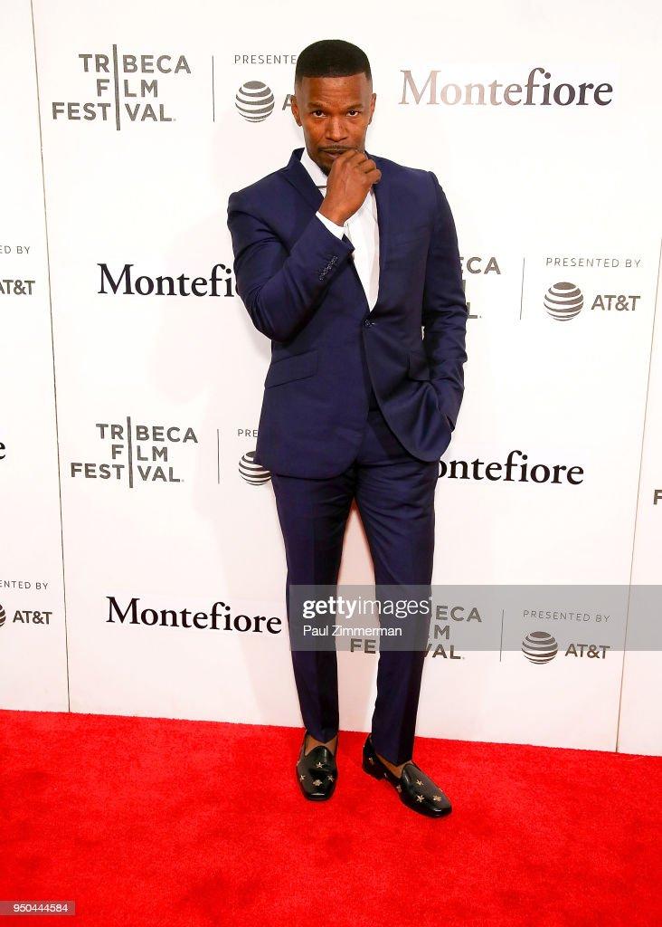 2018 Tribeca Film Festival - Tribeca Talks: Storytellers - Jamie Foxx