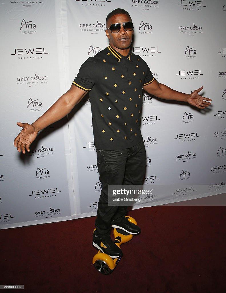 Jamie Foxx At Grand Opening Of Jewel Nightclub