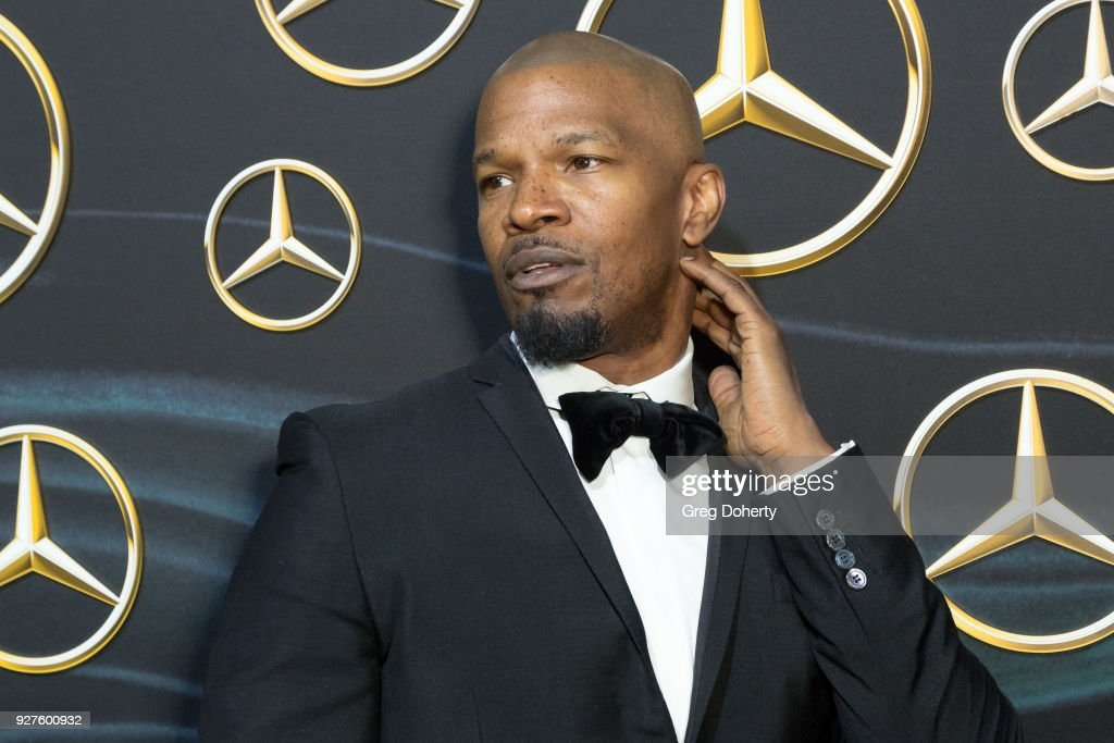 CA: Mercedez-Benz USA's Official Awards Viewing Party - Arrivals