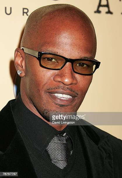 Actor Jamie Foxx attends the premiere of Focus Features' 'Atonement' at the Academy of Motion Picture Arts and Sciences on December 6 2007 in Beverly...