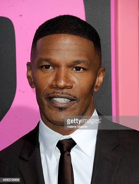 Actor Jamie Foxx attends the premiere of New Line Cinema's Horrible Bosses 2 at TCL Chinese Theatre on November 20 2014 in Hollywood California