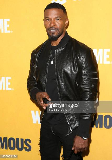 Actor Jamie Foxx attends the premiere of Showtime's 'White Famous' at The Jeremy Hotel on September 27 2017 in West Hollywood California